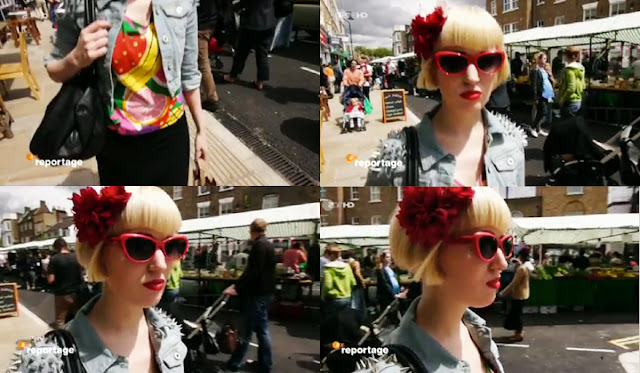 london street style, broadway market, ZDF reportage