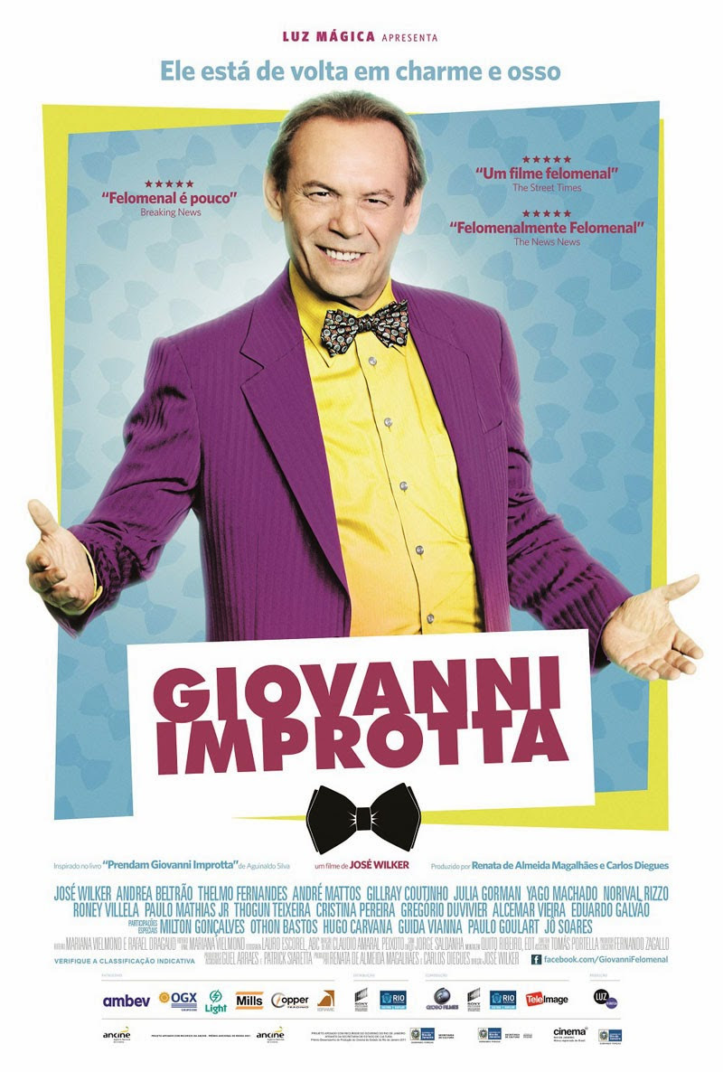 Download - Giovanni Improtta - DVDRip AVI + RMVB Nacional ( 2013 )