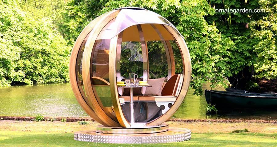 Refugio esfera de jardín