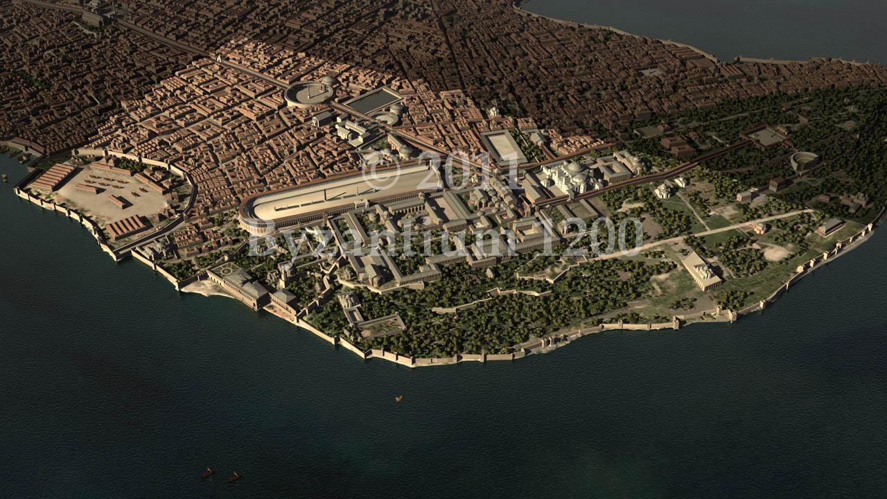 vyzantini konstantinoupoli