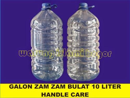 Jual Botol Kemasan Air Zam Zam 10 Liter