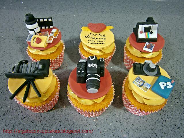 Cupcakes fotógrafo