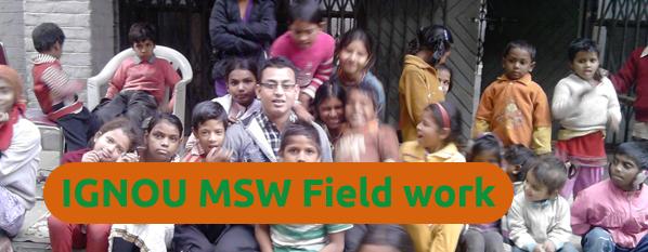 IGNOU MSW Field Work