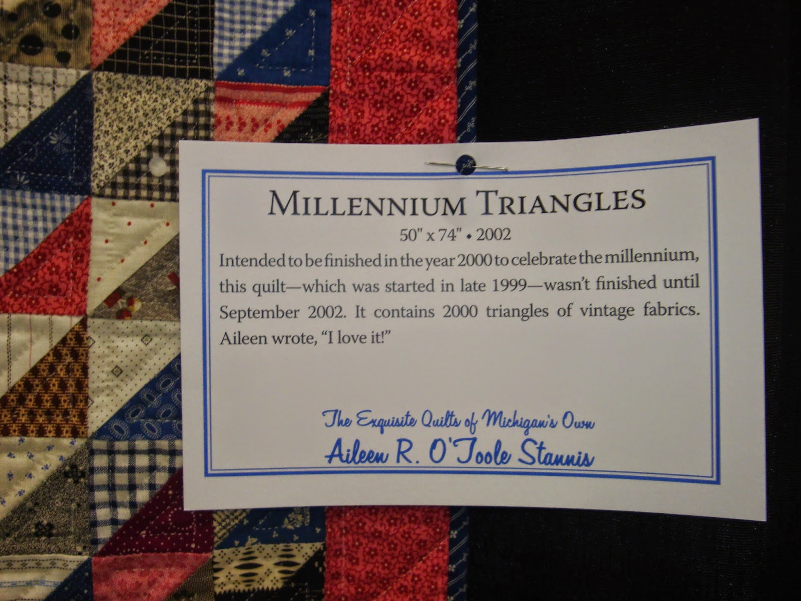 FABRIC THERAPY 2014 AQS Grand Rapids Quilt Show Part Five