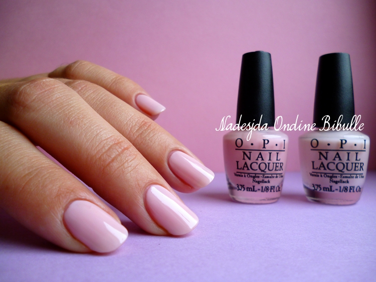 Un mariage version OPI - Oz The great and powerful collection - I theodora you + Don't burst my bubble