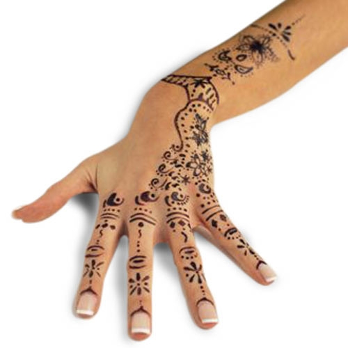small henna tattoos