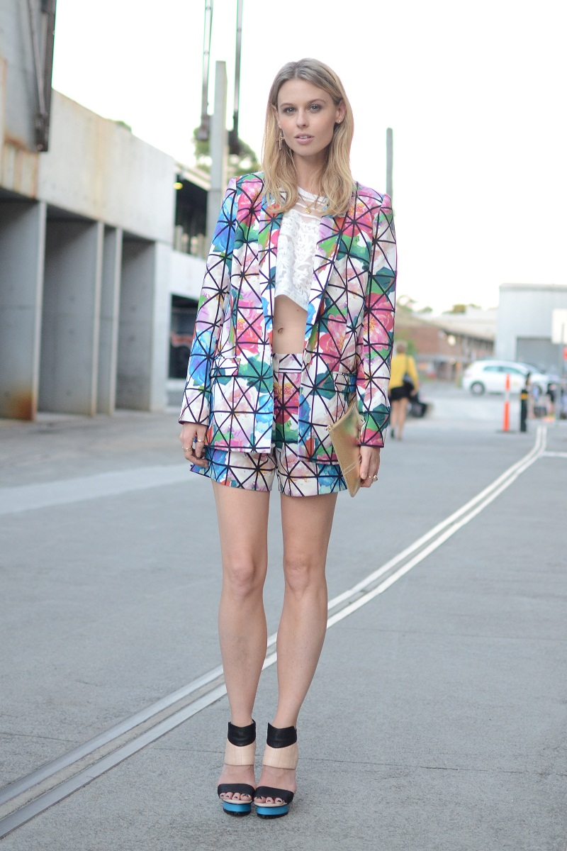 MBFWA, Fashion Week Australia, street style, S/S 2013/14, Carriageworks, Ginger & Smart