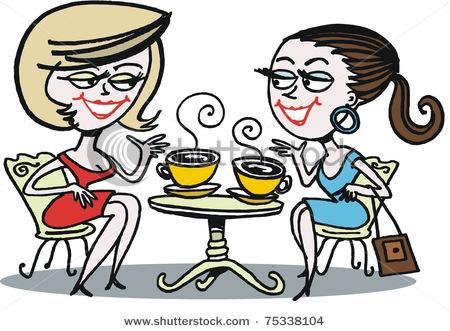 Royalty-Free (RF) Clip Art Illustration of Cartoon Women ...