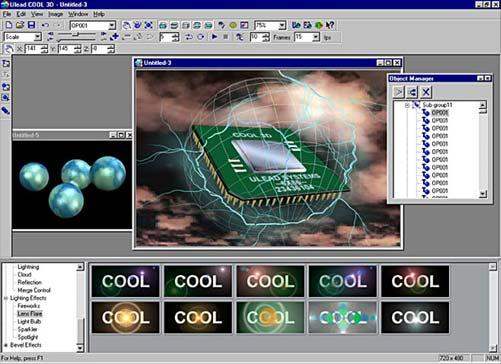 ulead cool 3d  full version