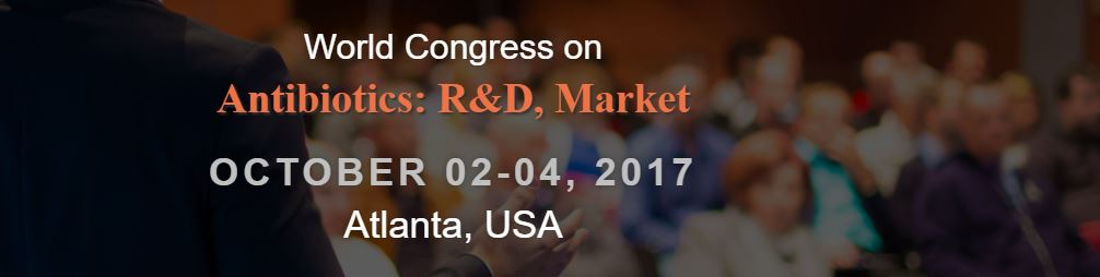 World Congress on Antibiotics: R and D, Market