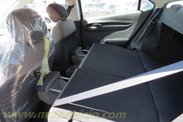 Novo Chevrolet Prisma 2014 (Onix Sedan) - Interior