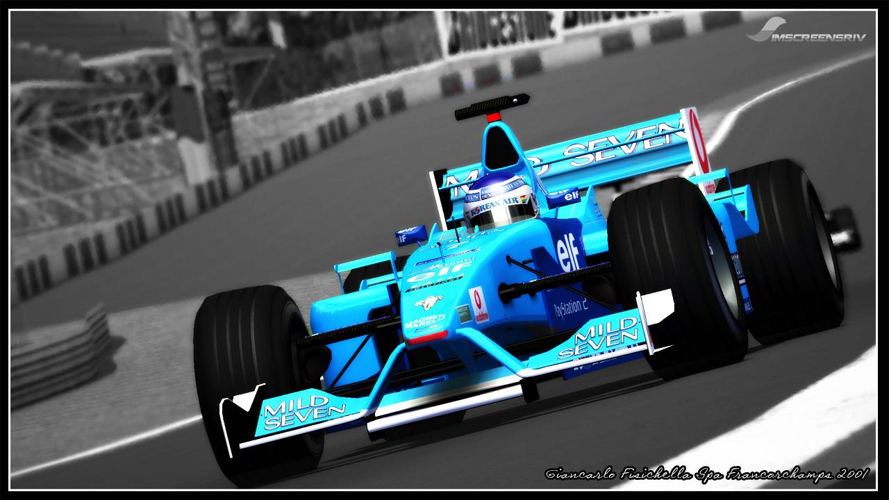 Simscreensriv Rf Giancarlo Fisichella Spa 2001