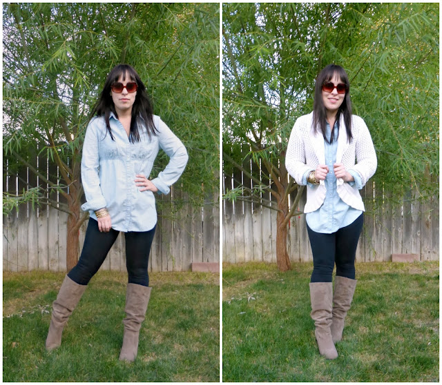 7x7 remix, tips for how to wear leggings for fall and winter