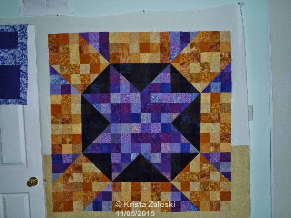 Krista Quilts Design Wall Monday May 11
