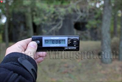 Замер радиации около 5 ДОТ-а