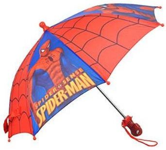 Umbrella - Marvel - Spideman Spider Sense Red/Blue Kids Boys New 577018