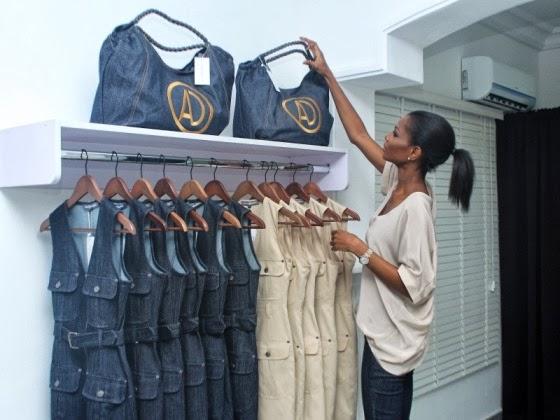 Agbani Darego opens AD showroom in Lekki Phase 1 - See  Photos