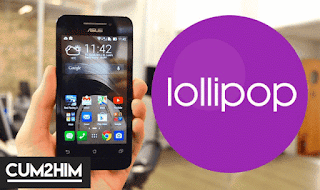 Tutorial Update Zenfone C ke Lolipop Tanpa PC