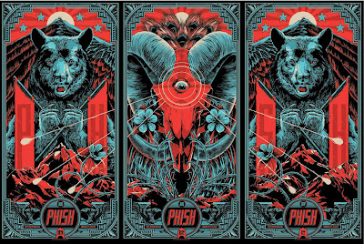Phish Posters by Ken Taylor from Commerce City, CO 2013