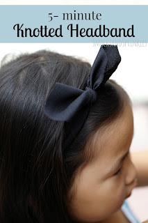 DIY knotted hairband