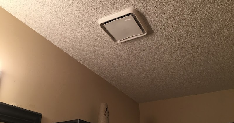 How to remove bathroom fan