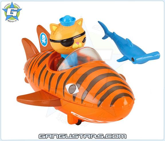 Octonauts Kwazii 2015 toys オクトノーツ クワジー トゥイーク ディズニー Fisher-Price mattel the Octonauts