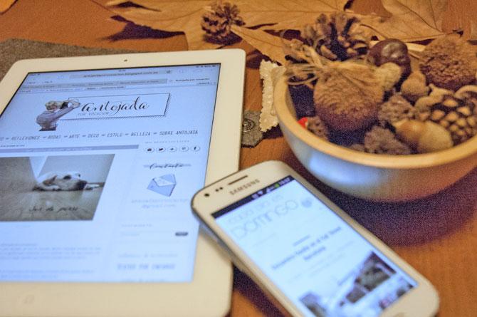 Arriba la tardor i mentre, descobreixo altres blogs ©Imma Mestre Cunillera
