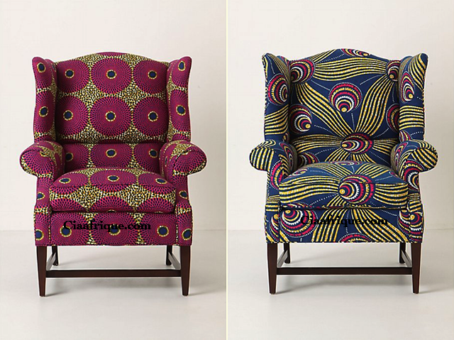 The Josef Wingback Chair from Anthropologie,  afrocentric decoration ideas