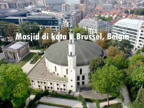 Komunitas Muslim Indonesia di Brussel