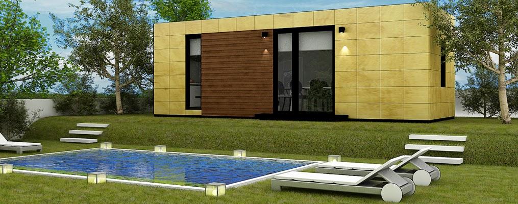 Módulo para jardín Resan Modular - Espacio gastronómico - Vista exterior