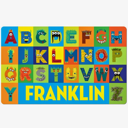 http://www.psychobabyonline.com/cart/7931/40507/Psychobaby-Beastly-Boy-Monster-Alphabet-Placemat/