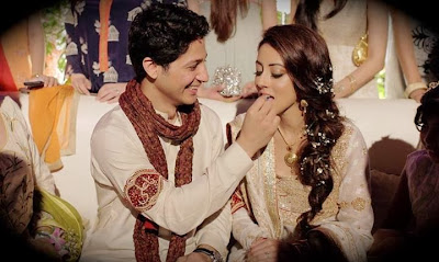 Ainy Jaffri And Faris Rahman's Engagement Picture