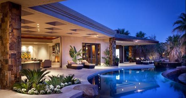 Fotos de terrazas terrazas y jardines casas terrazas bonitas - Casas modernas con piscina ...
