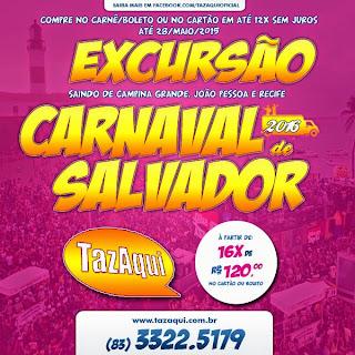 Excursão e Hospedagem para o Carnaval de Salvador 2016