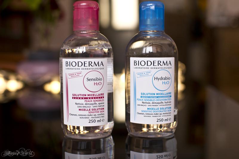 bioderma hydrabio h2o vs sensibio h2o