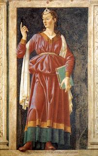 Cumaean Sibyl by Andrea del Castagno