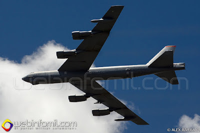 Bombardero B-52 del US Air Force.