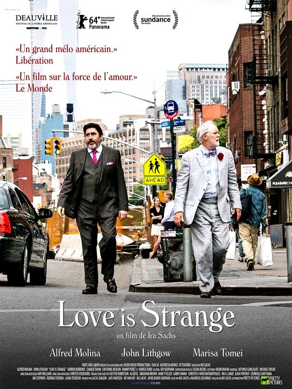 Póster El amor es extraño
