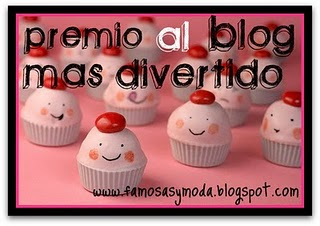 Premio al blog ms divertido =)