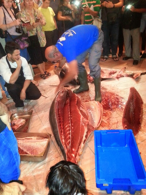 Jornada de atún rojo en Sevilla