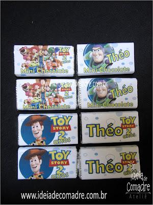 mini chocolates ideia de comadre Atelie