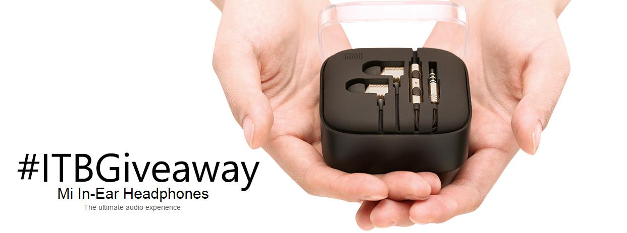 Win Mi In-Ear Headphones ITBGiveaway