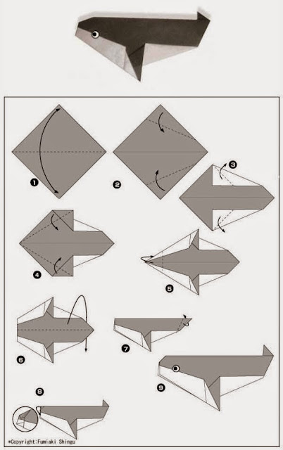 Πώς να δημιουργήσετε απλές οριγκάμι (origami) φιγούρες