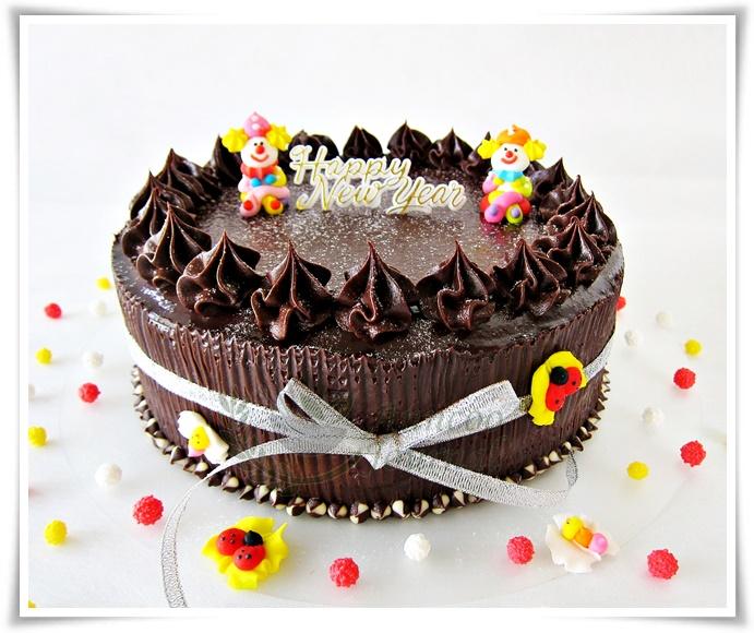 Checkerboard Chocolate Cake - Anncoo Journal