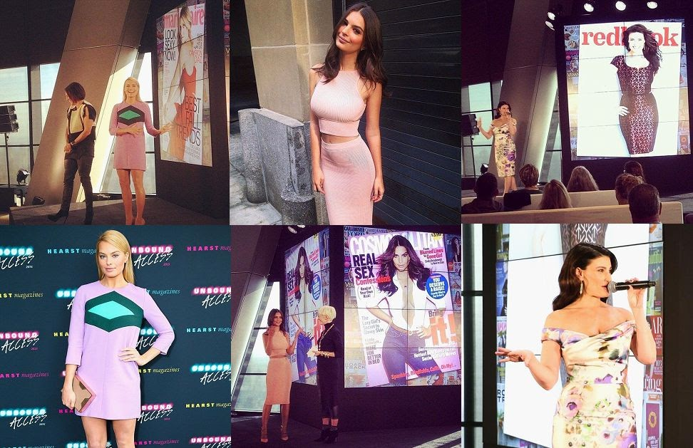 The leggy ladies has landed numerous, then Margot Robbie, Idina Menzel and Emily Ratajkowski have a lot to explaining. And the trio certainly exuded contentment and confidence as they attended a bash to celebrate their December magazine cover at Hearst Magazine tower in New York, USA on Wednesday, October 22, 2014.