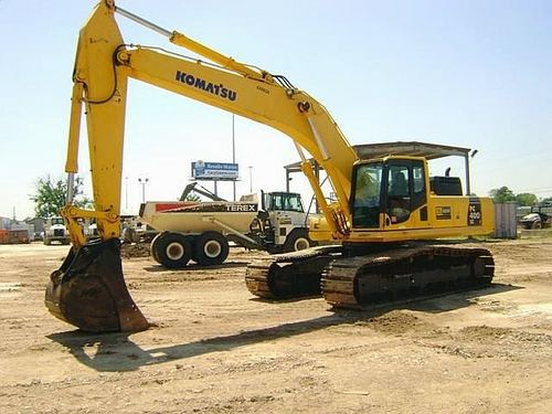 Komatsu Excavators PC400LC-8