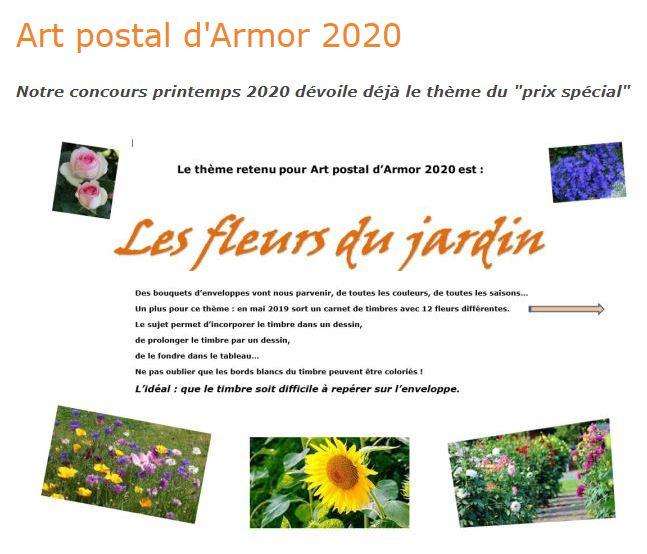 Concours d'art postal 2020