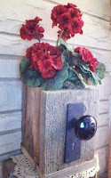 Primitive Doorknob Box