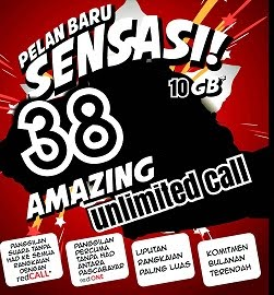 Unlimited Call@RM38/month