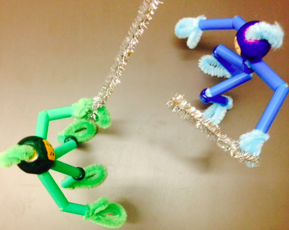 how to make pipe cleaner ninjas